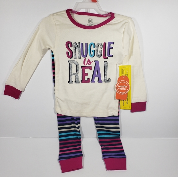 Brand new Toddler Snuggle Is Real Pajama Set